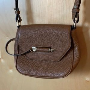Mackage / Aritzia brown authentic leather purse